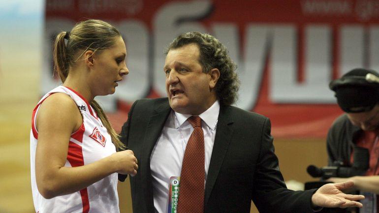 Марина Карпунина и Шабтай Калманович. Фото Дмитрий Солнцев