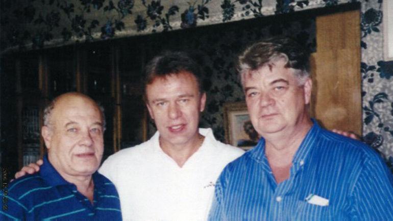 Диссидент Лев Орлов, Вячеслав Фетисов и соавтор письма Ларионова Анатолий Головков (слева направо).