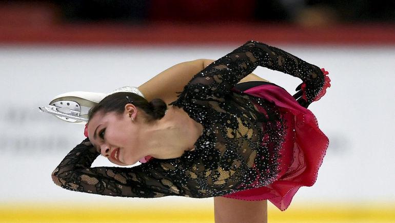 3 ноября. Хельсинки. Алина Загитова. Фото REUTERS