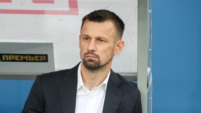 """Сергей Семак: """"Паредес будет наказан за удаление. Нужно контролировать эмоции"""""""