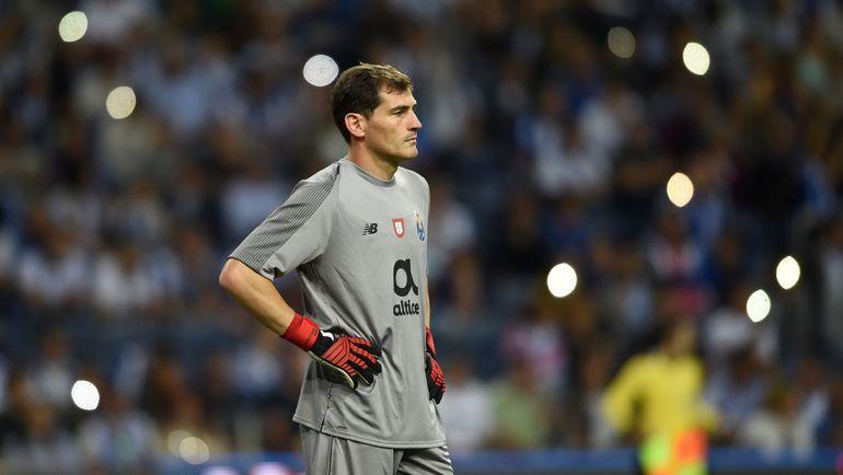 """Вратарь """"Порту"""" Икер Касильяс. Фото AFP"""
