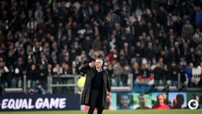 """7 ноября. Турин. """"Ювентус"""" - """"Манчестер Юнайтед"""" - 1:2. Жозе Моуринью."""