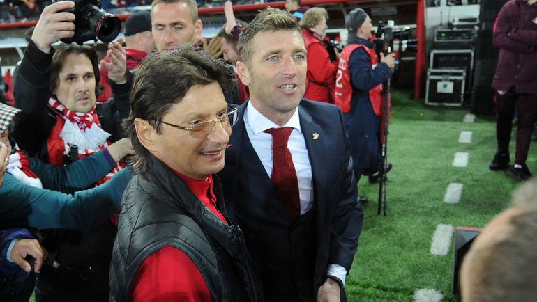 Леонид Федун и Массимо Каррера. Фото Алексей Иванов