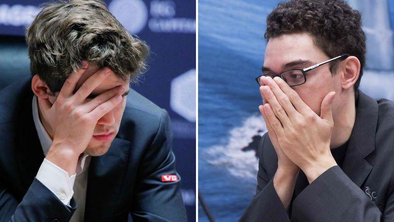 Магнус Карлсен - Фабиано Каруана: кто победит? Фото AFP