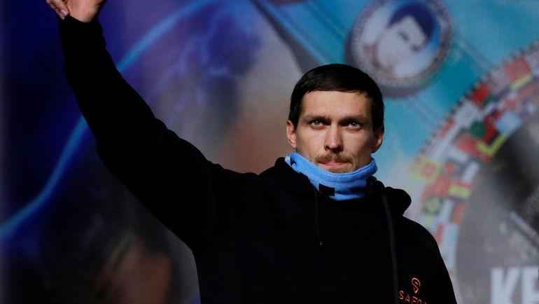 Александр Усик. Фото REUTERS