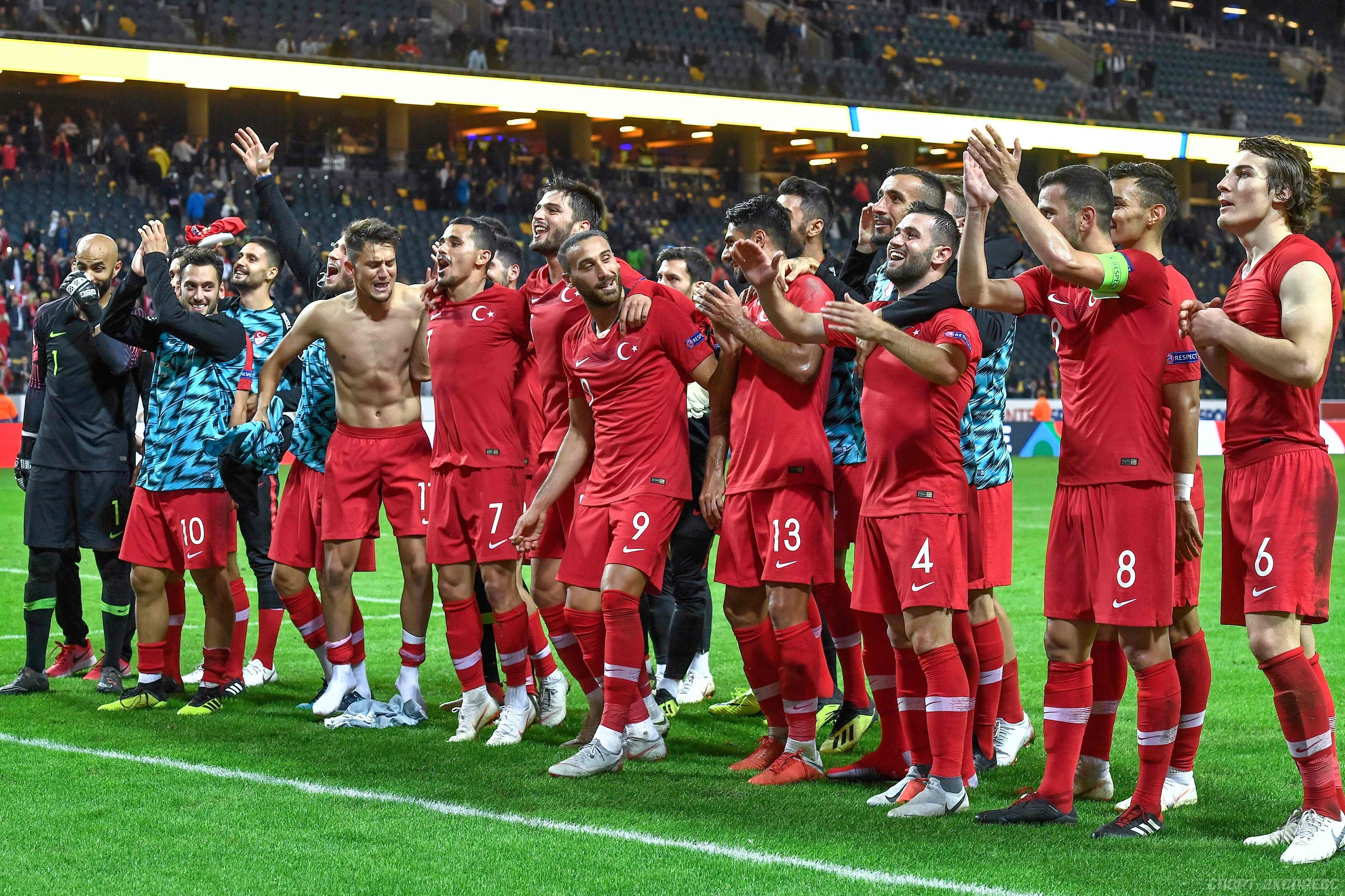 Прогноз на матч Турция - Швеция: турки выиграют с нулевой форой