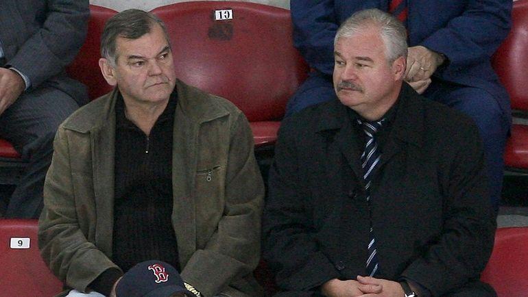 Владимир Вуйтек и Владимир Плющев. Фото Татьяна Дорогутина