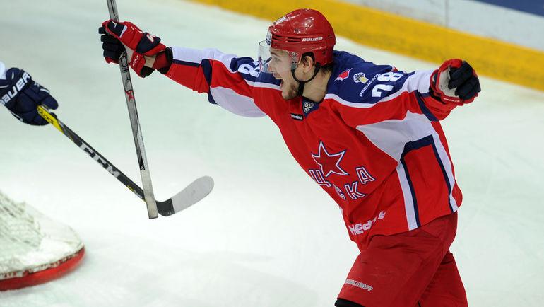 Российский нападающий возвращается из НХЛ в ЦСКА. Почему?