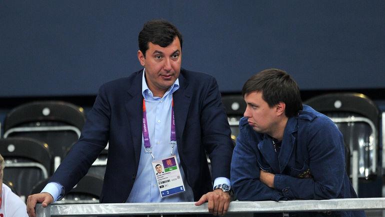 Президент ВФВ Станислав Шевченко (слева). Фото Алексей Иванов