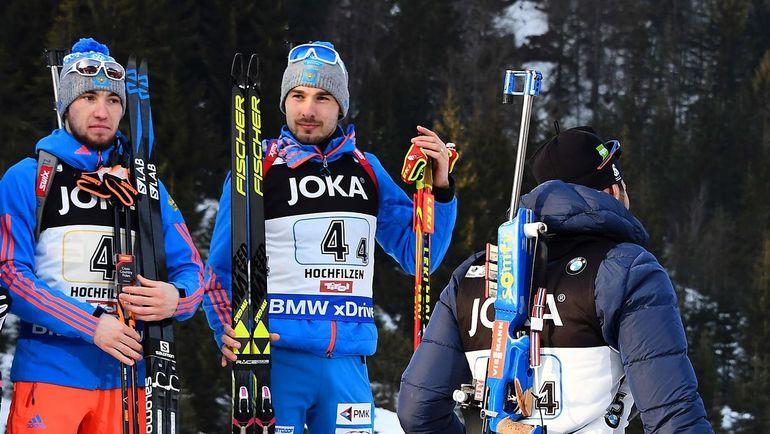 Александр Логинов (слева) и Антон Шипулин. Фото AFP