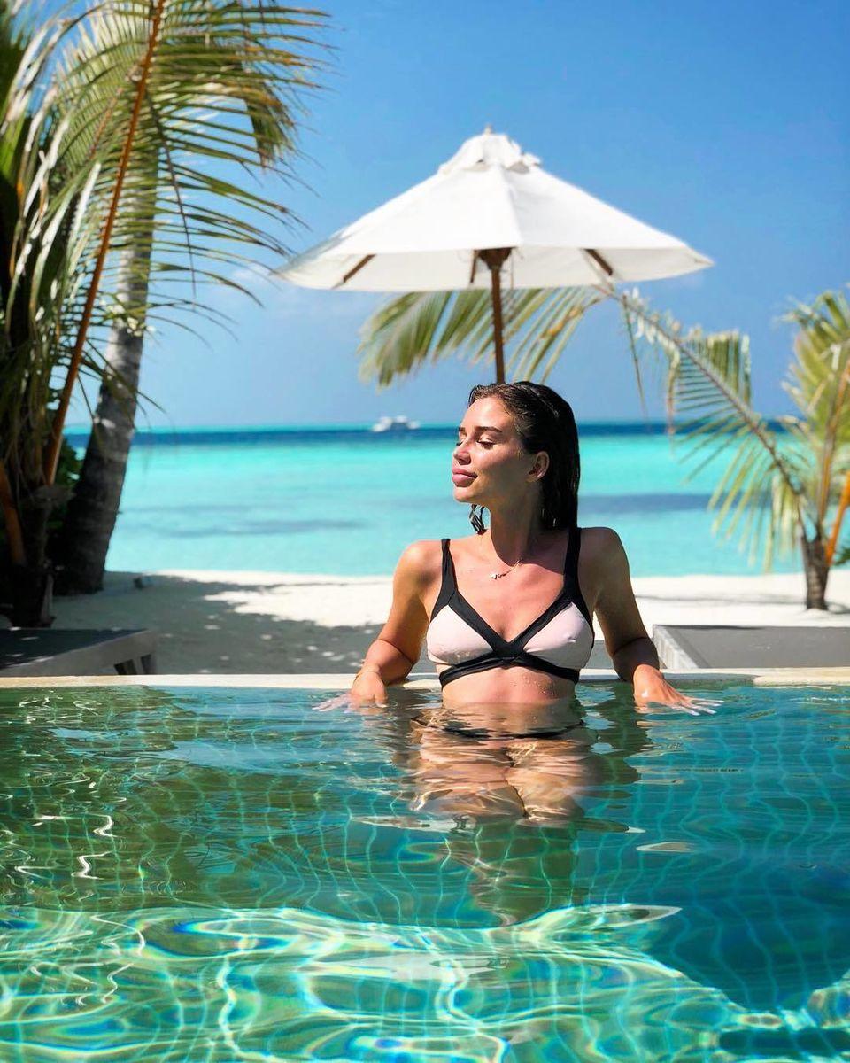 С кем Подберезкин отдыхает на Мальдивах? Оцените эту красоту