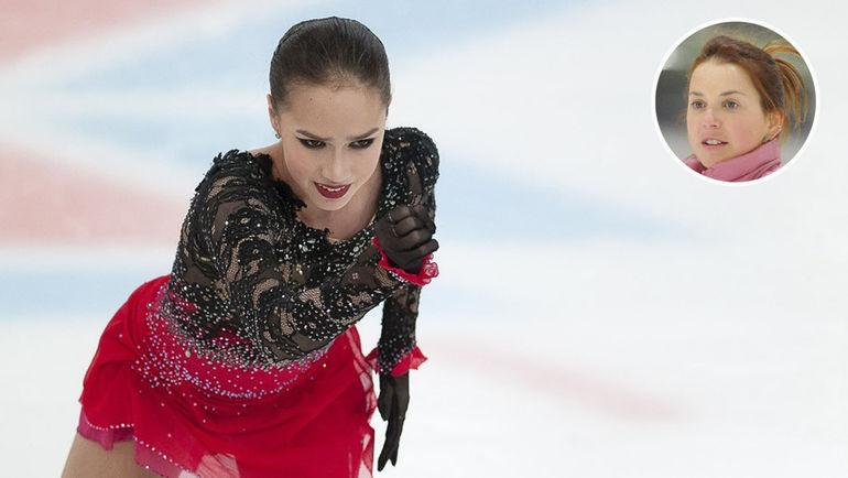 Алина Загитова и Ирина Слуцкая. Фото Ксения Нуртдинова