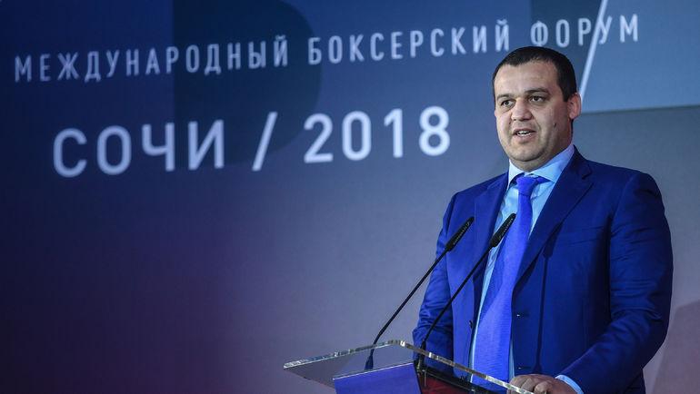 Умар Кремлев. Фото Пресс-служба Федерации бокса России