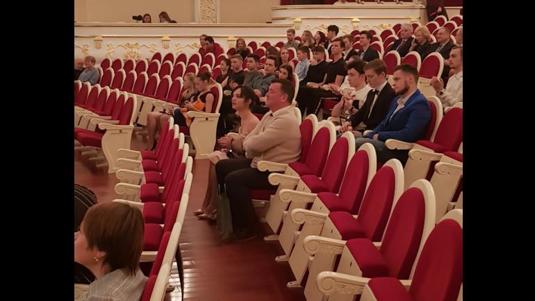 """Тренер Евгении Медведевой Брайан Орсер на жеребьевке. Фото """"СЭ"""""""