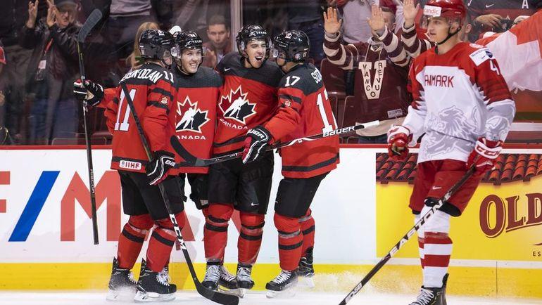 Канада устроила Дании жесточайшую порку. 14:0 – настоящее издевательство!