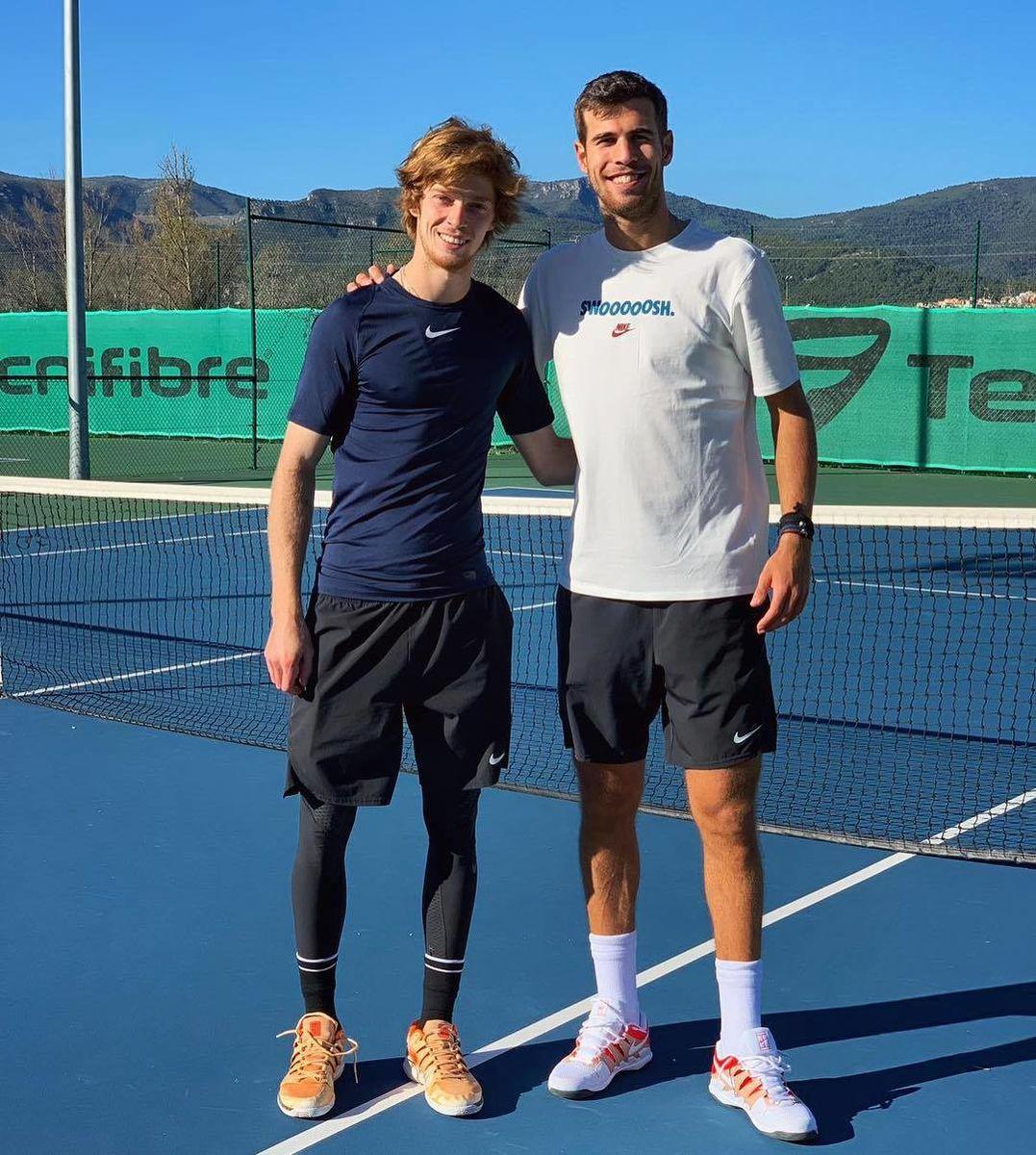 Как российские теннисисты готовились к сезону-2019