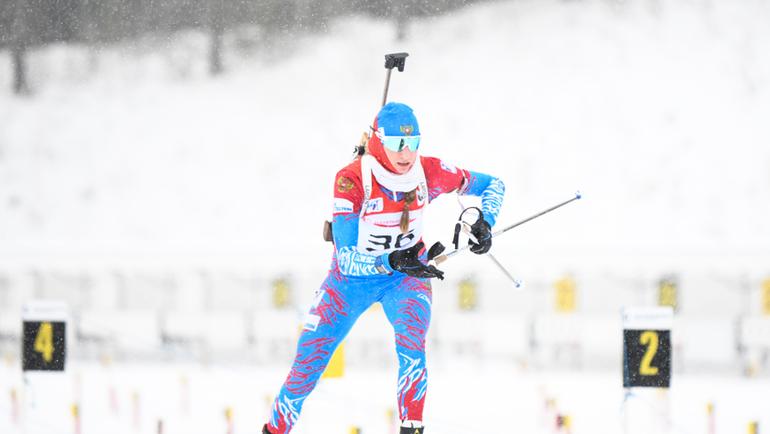 Светлана Миронова. Фото Союз биатлонистов России/biathlonrus.com