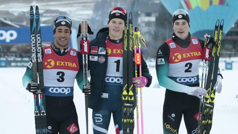 (слева направо) Ришар Жув, Йоханнес Клебо и Люка Шанава. Фото twitter.com