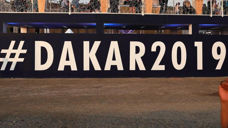 "4 января. Лима. Постер ралли ""Дакар - 2019"". Фото REUTERS"