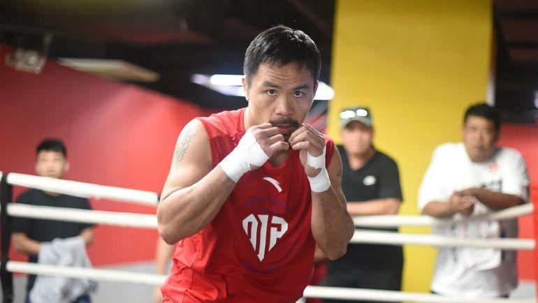 Мэнни Пакиао. Фото AFP