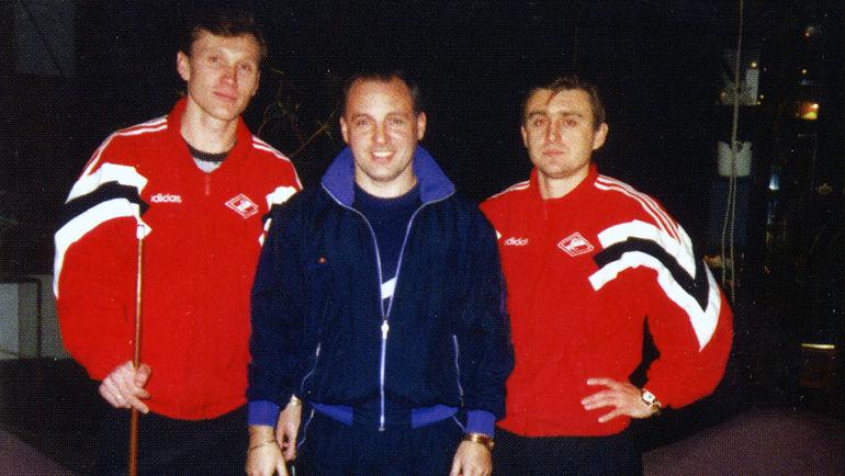 Сергей Родионов, Владимир Абрамов, Федор Черенков. Фото из личного архива Владимира Абрамова