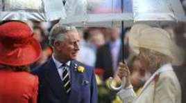 Принц Чарльз на скачках в Австралии