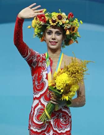 У Маргариты Мамун - золото и бронза чемпионата мира