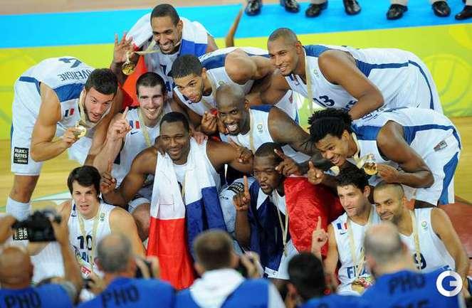 Франция - чемпион Европы-2013 года. Счет финального матча: Франция - Литва - 80:66. Фото AFP.