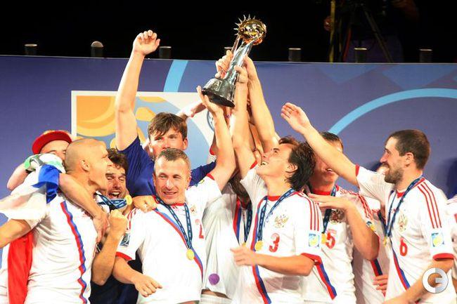Сборная России - снова чемпион мира! Фото AFP