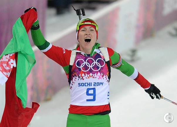 Домрачева - олимпийская чемпионка в гонке преследования