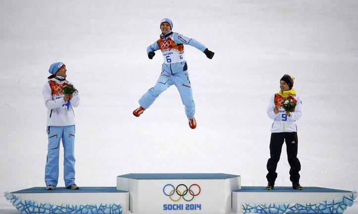 Гробак принес Норвегии седьмое золото Сочи-2014.