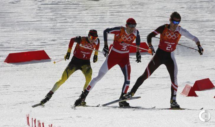 Сборная Норвегии стала победителем в командном двоеборье. Фото REUTERS