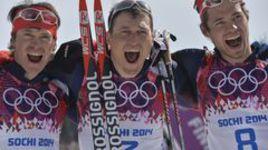 Российские лыжники заняли весь пьедестал в марафоне