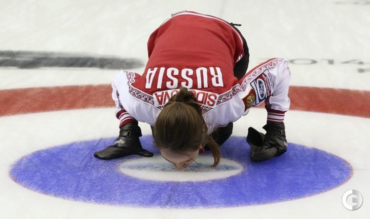 Бронза ЧМ по керлингу впервые у россиянок!