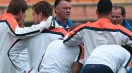 Ван Гал готовит голландцев к бою против Аргентины