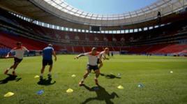 Тренировка сборной Голландии