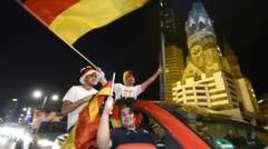 Германия празднует победу на ЧМ-2014