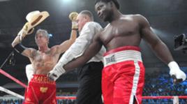 Микки Рурк победил Сеймура нокаутом во втором раунде