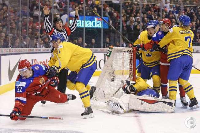 Россия проиграла Швеции на молодежном ЧМ