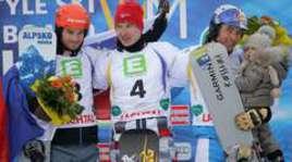 Соболев - чемпион мира в параллельном гигантском слаломе