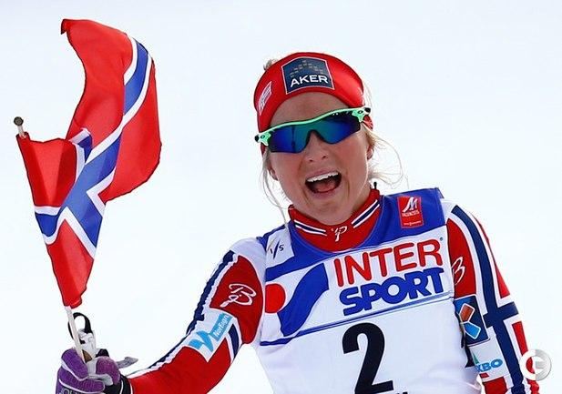 Йохауг завоевала золото на чемпионате мира