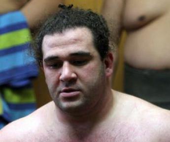 """Российский сумоист Алан ГАБАРАЕВ. Фото AFP Фото """"СЭ"""""""