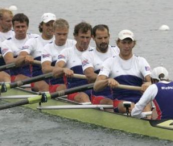 Российская восьмерка на чемпионате мира-2007 в Мюнхене. Фото REUTERS