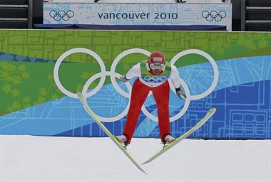 """34-летний австриец Феликс ГОТТВАЛЬД на своей пятой Олимпиаде выиграл свою седьмую олимпийскую медаль и третью золотую. Фото REUTERS Фото """"СЭ"""""""