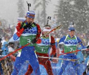 Бронзовый призер Игр в Ванкувере Антон ШИПУЛИН. Фото REUTERS