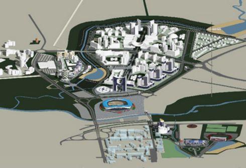 Схема будущего Саранска. В