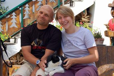 Борис и Алена БЕРКУТЫ. Фото Фото из архива Бориса и Алены БЕРКУТОВ