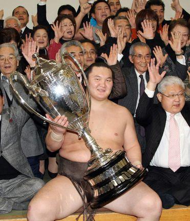 Йокодзуна ХАКУХО. Фото AFP
