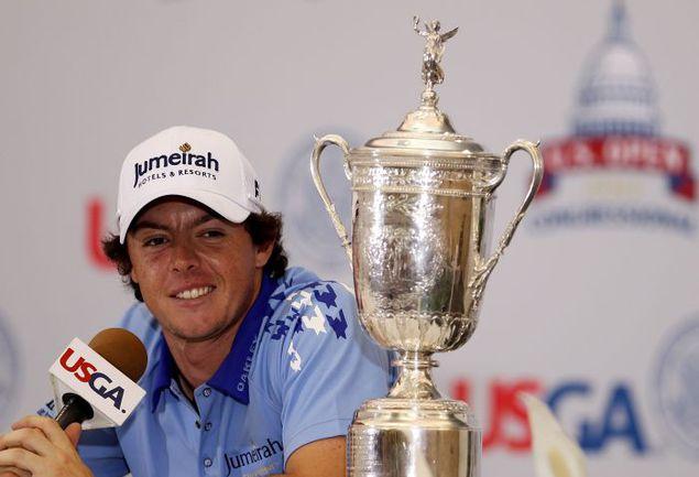 Чемпион US Open-2011 Рори МАКИЛРОЙ. Фото AFP