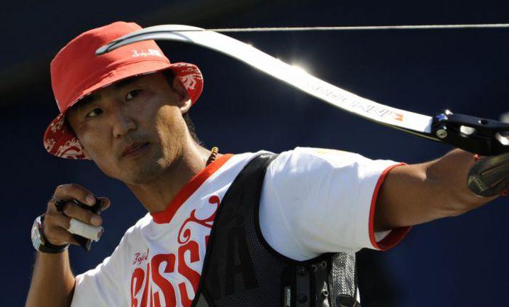 Бронзовый призер Пекина-2008 Баир БАДЕНОВ. Фото AFP
